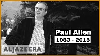🇺🇸 Microsoft co-founder Paul Allen dies at age 65 | Al Jazeera English - ALJAZEERAENGLISH