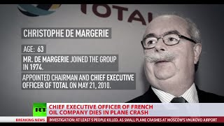 CEO of France's Total dies in jet crash at Moscow's Vnukovo Airport - RUSSIATODAY