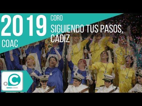 Sesión de Cuartos de final, la agrupación Siguiendo tus pasos, Cádiz actúa hoy en la modalidad de Coros.