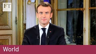 Macron makes concessions to 'gilets jaunes' - FINANCIALTIMESVIDEOS