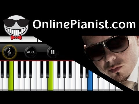 Pitbull ft. Christina Aguilera - Feel This Moment - Piano Tutorial