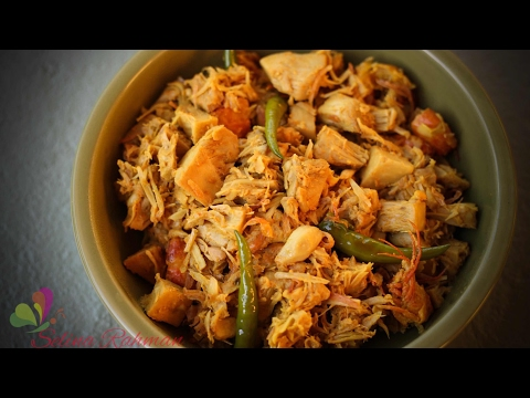 এ্যাঁচোর || কাঁচা কাঁঠাল ভূনা || Young Green Jackfruit Curry || R# 132