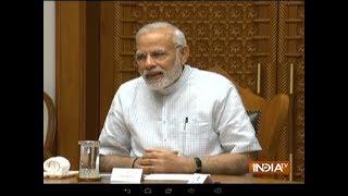 'Challenge accepted', tweets PM Modi after Virat Kohli tags him for fitness challenge - INDIATV
