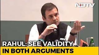 Rahul Gandhi's Changed Position On Sabarimala Accommodates Tradition - NDTV