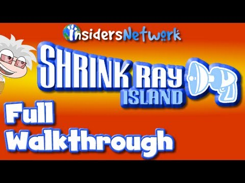  Poptropica Shrink Ray Island FULL Walkthrough 