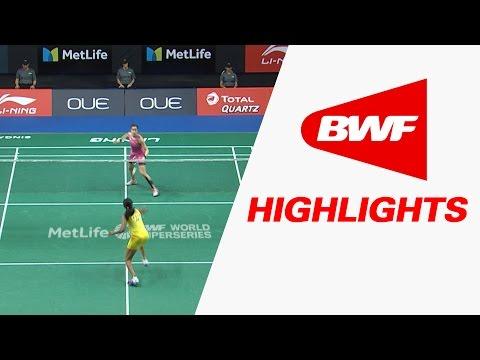 OUE Singapore Open 2017 | Badminton QF – Highlights