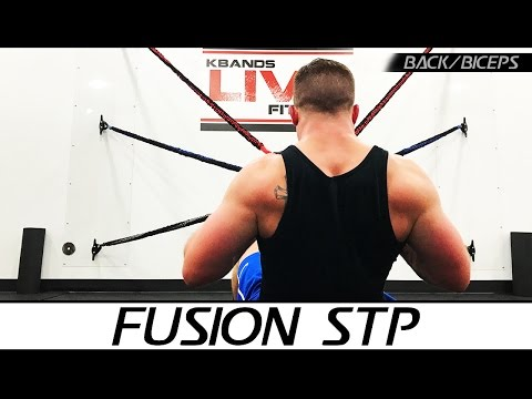 Fusion STP Back & Lats At Home Workout