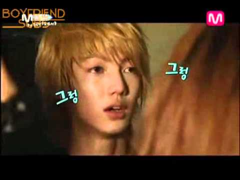 [Boyfriend Moment #17] Youngmin angry or cried or nervous ?