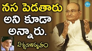 I Don't Want To Comment On Them - K Vishwanath || #Viswanadhamrutham || Manjunath - IDREAMMOVIES