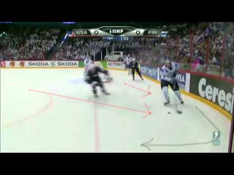 Team USA Bad Read On Forecheck & Defensive Rush.mp4