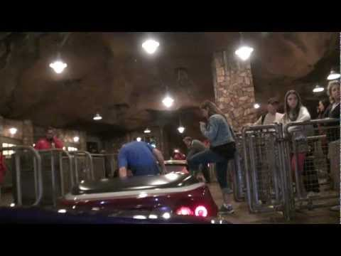 2012 DCA Radiator Springs Racers Nighttime Entrance to Exit, July 3rd (Full Ride) POV HD (1080p)