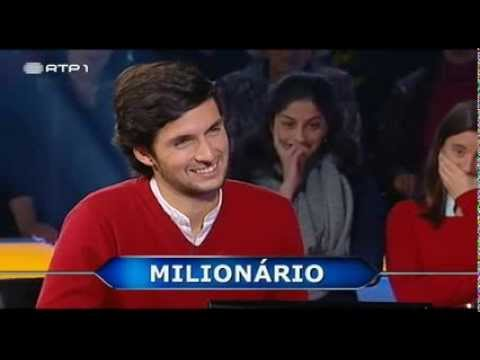 José Souto Moura - Vencedor do Quem Quer Ser Milionário