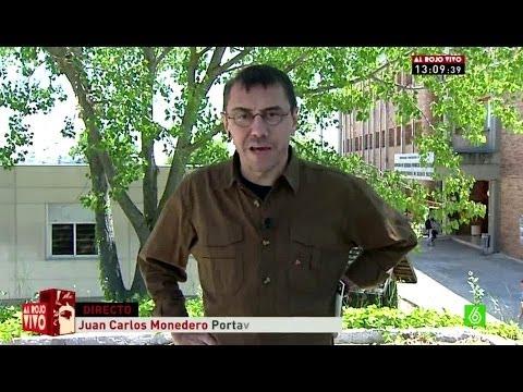 Al Rojo Vivo - Monedero, portavoz de Podemos:
