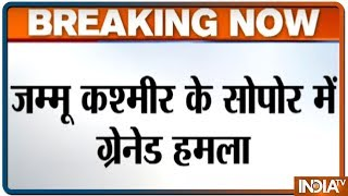 Jammu and Kashmir: Two Jawans Injured In Grenade Attack In Sopore - INDIATV