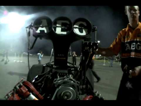 POV on-board-Darren Morgan Top Fuel video compilation 20.11.2010