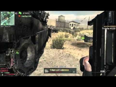 Modern Warfare 3 - Capture the flag gameplay in Dome W/ TRIPLE HEADSHOT KILLFEED / MW3 Call of duty