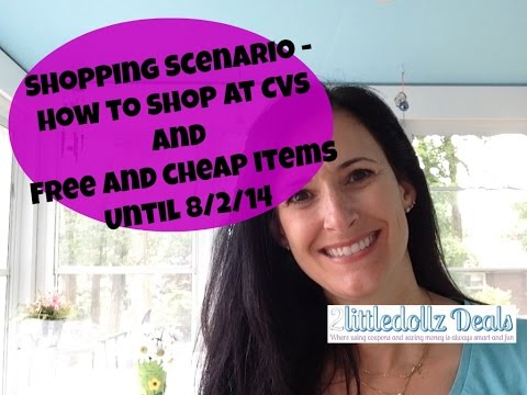 Best CVS Shopping Scenario How to Shop with Coupons 7/27/14 to 8/2/14
