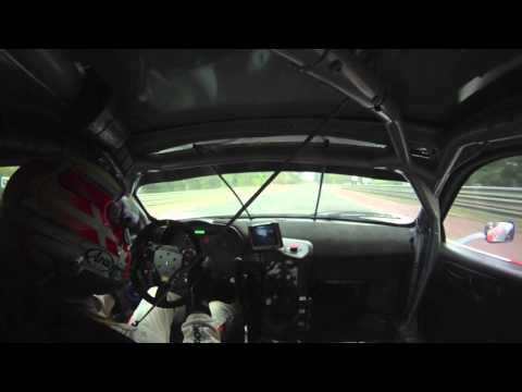 Allan Simonsen (Ferrari 458 GT2) onboard lap time - 3:59:966 -Le Mans / Hankook Farnbacher racing