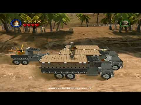 Lego indiana jones walkthrough Pursuing the ark 2 2 