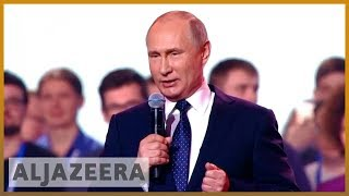 🇷🇺 Russian elections: Putin expected to win fourth term as president | Al Jazeera English - ALJAZEERAENGLISH