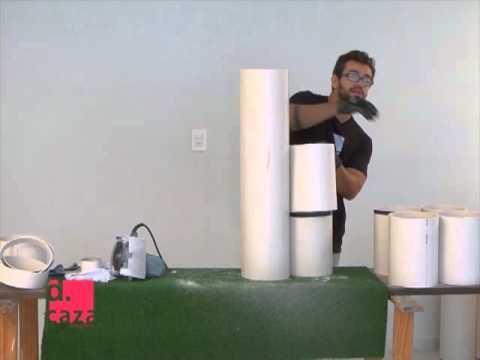 DCaza sapateira de tubo