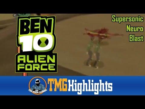 Supersonic Neuro Blast | Ben 10: Alien Force (PS2) | TMG Highlights