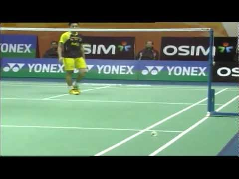 Semi Finals - MS - Lee Chong Wei vs Lin Dan - Yonex Sunrise Hong Kong Open 2011