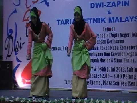 Tarian Zapin Tenglu  Pert Dwi Zapin JKKN  Seri Srikandi Airien n Saffa