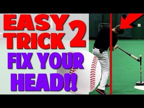 Fix Head With 1 Simple Trick | Baseball Hitting Drill (Pro Speed Baseball)
