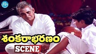 Sankarabharanam Movie Climax Scene || J.V. Somayajulu - IDREAMMOVIES