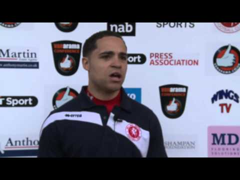 WingsTV Loui Fazakerley Freeview after Welling United vs Grimsby Town