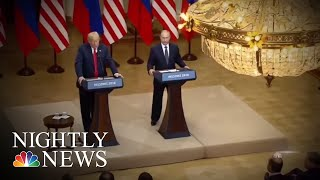 Congressional GOP Scrambles To React Amid President Donald Trump Helsinki Fallout | NBC Nightly News - NBCNEWS