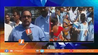 Kakinada Aditya Degree College Students Helping Hands To Titli Toofan Victims | iNews - INEWS