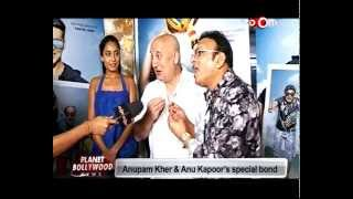 Anupam Kher and Anu Kapoor's special bond! | Bollywood News