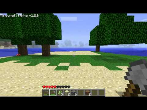 Lets Play Minecraft Episode 1: It Begins