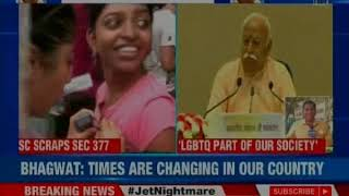 RSS Conclave: RSS Chief Mohan Bhagwat's startling statement on LGTBQ community - NEWSXLIVE