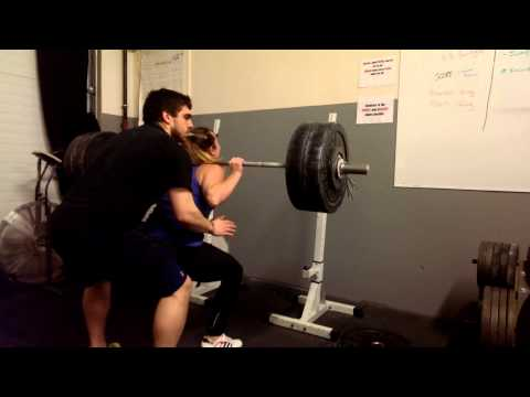 Pony Legs Back Squat 225lbs