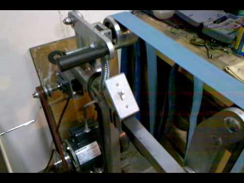 New motor for DIY belt grinder