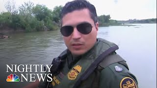 Federal Authorities Confront Smugglers Trying To Enter The U.S. Illegally | NBC Nightly News - NBCNEWS