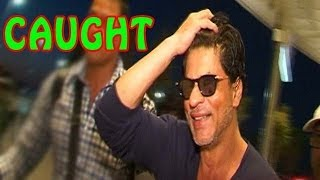Caught ! Shahrukh Khan's white beard Look