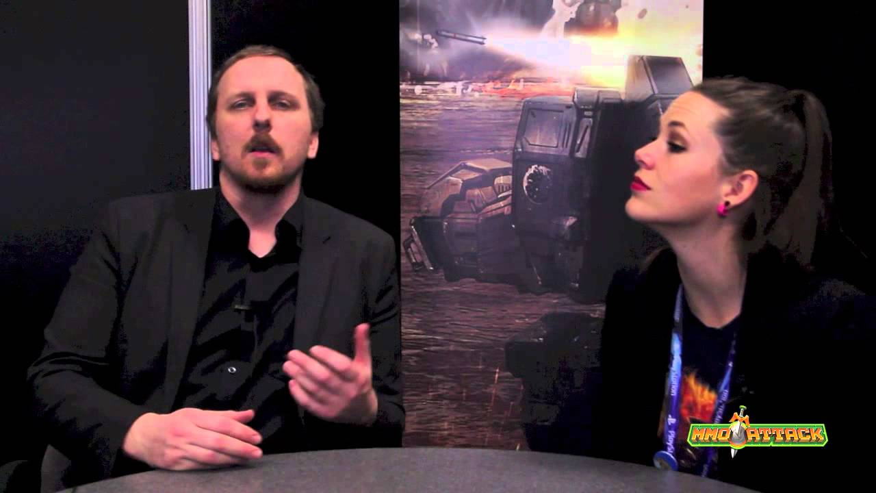 MechWarrior Online Interview (Russ Bullock) - GDC 2013