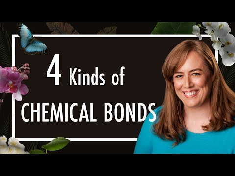 Ionic and Covalent Bonds, Hydrogen Bonds, van der Waals - 4 types of Chemical Bonds in Biology