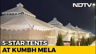 A Peek Into Luxury 5-Star Tents At Prayagraj's Kumbh Mela - NDTV