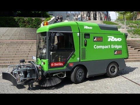 Zamiatarka na gaz - RAVO 4 Series CNG