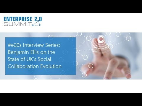 #e20s Interview Series / Benjamin Ellis