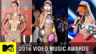 Meat Dresses to Purple Pasties Remembering Iconic VMA Looks   2016 Video Music Awards   MTV - MTV