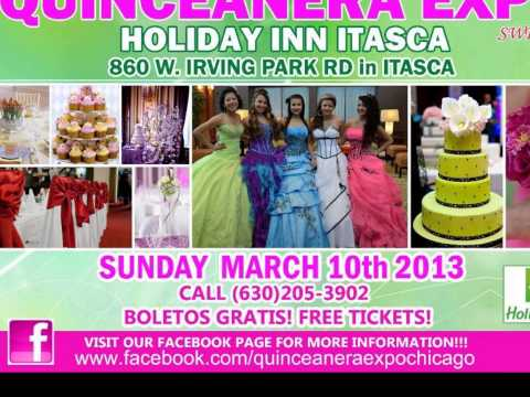 Quinceañera expo en Chicago conoce a Blossoms By Angelica!