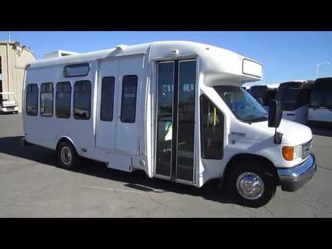 Used ParaTransit Bus - 2007 Ford E450 Startrans For 17 Passengers Or 13 plus 2 Wheelchairs S20929