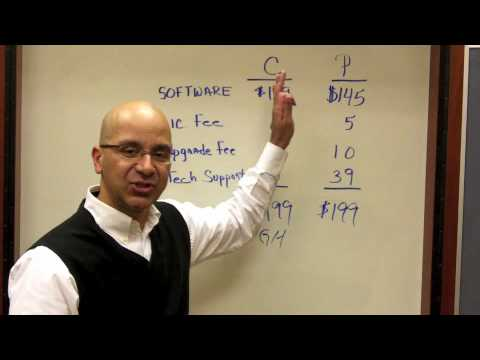 Sales Training Moment #4 - Consolidated vs. Partitioned Pricing Option (VictorAntonio.com)