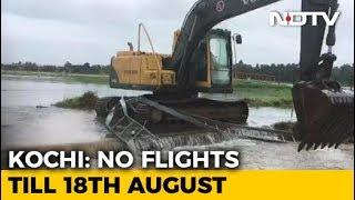 Kerala's Kochi Airport Closed Till Saturday, Runway Flooded - NDTV